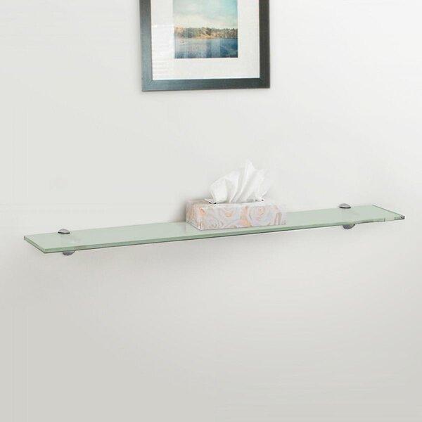 Versatile Glass Wall Shelves
