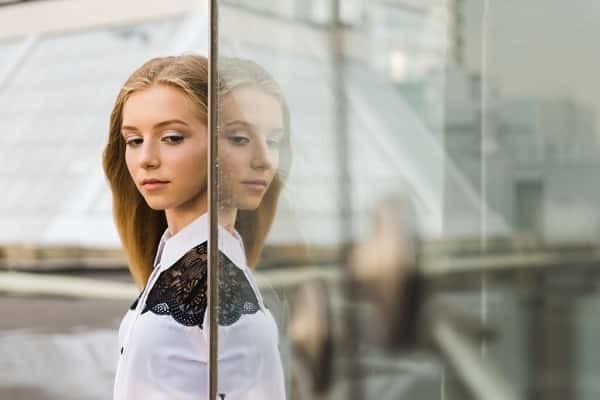 16. Mirrored glass