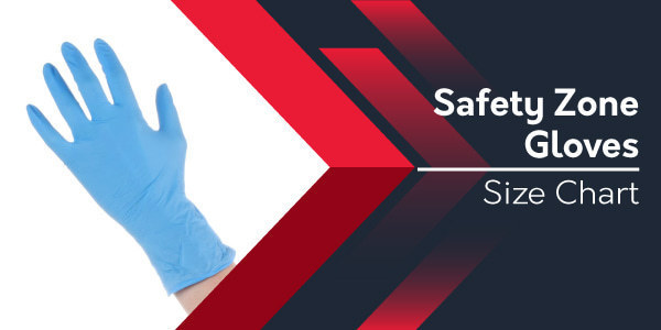 Safety Zone Gloves Size Chart